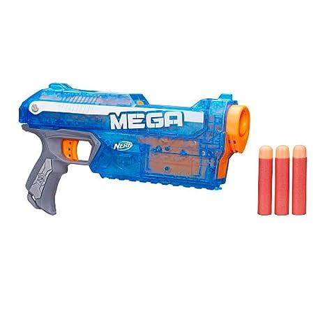 80b278ecdb3 Amazon.com: Nerf N-Strike Elite Mega Series Sonic Ice Magnus Blaster: Toys  & Games