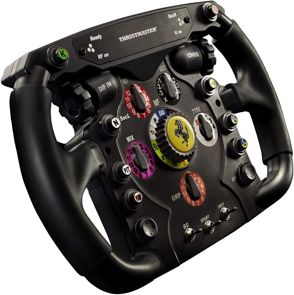 87f808b7fe5 Amazon.com: Thrustmaster Ferrari F1 Wheel Add-On for PS3/PS4/PC/Xbox One:  PC;6304300: Video Games