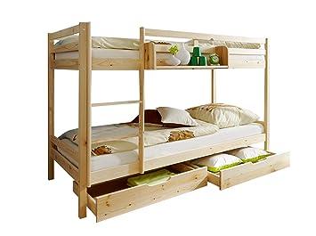 Etagenbett Holz Massiv : Online shop für massivholzmoebel hochbetten spielbetten und