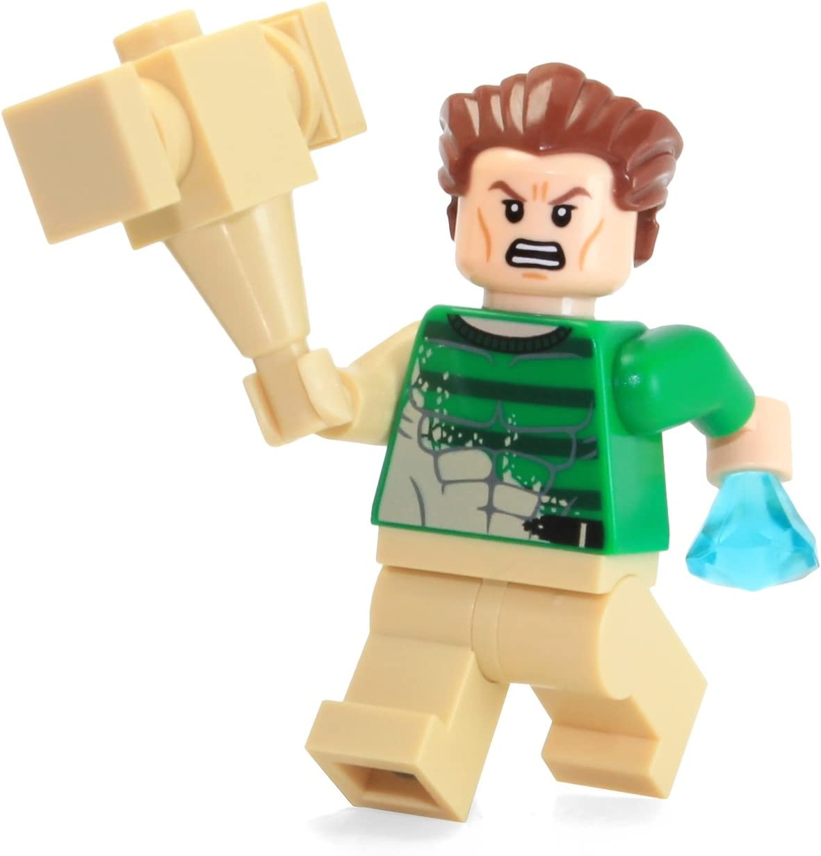 2015 LEGO Super Heroes: Spider-Man MiniFigure - Sandman (From Set 76037)