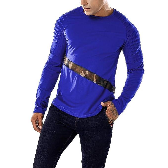 Camiseta Hombre Malla Plisada Camisetas Deportivo Hombre de ...
