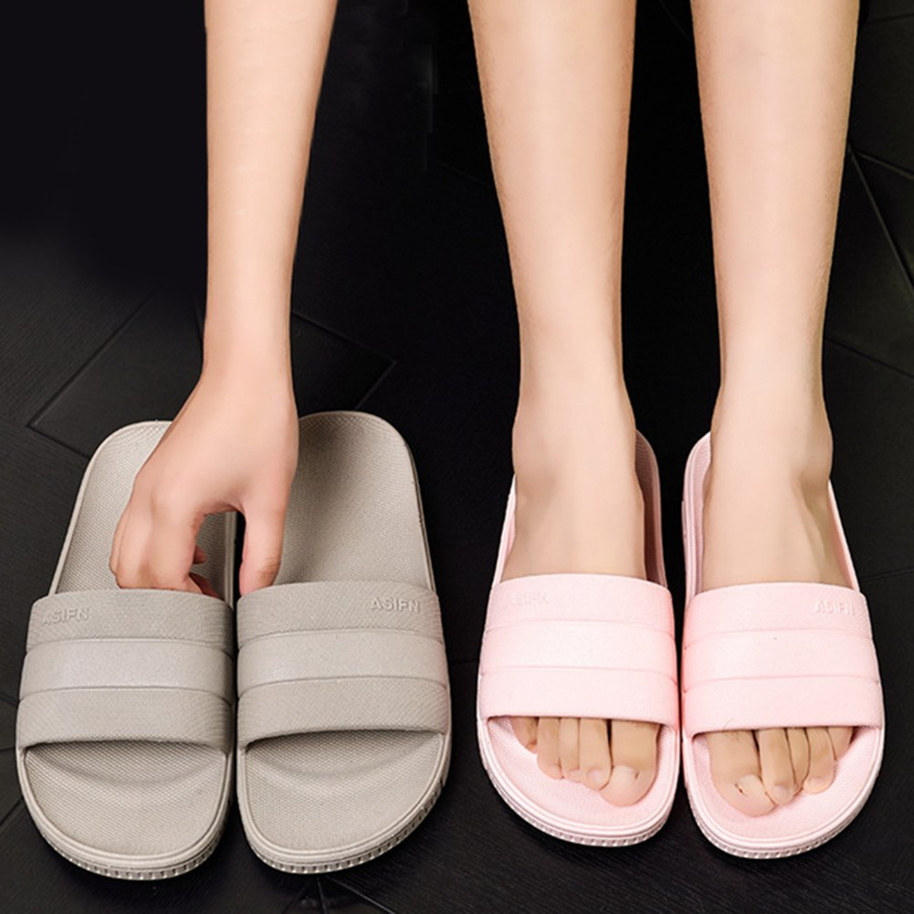 INFLATION Bath Slipper UnisexNon-Slip Open Toe Women Men Shower Sandals Indoor Anti-Slip Home Slippers by INFLATION (Image #6)