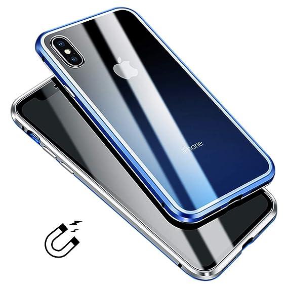 iphone xr case blue glass