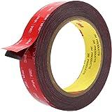 Double Sided Tape, HitLights 3M VHB Mounting Tape Heavy Duty, Waterproof Foam Tape, 16FT Length, 0.94 Inch Width for Car…