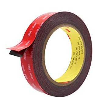 new style ea290 e4416 Double Sided Tape, HitLights 3M VHB Mounting Tape Heavy Duty, Waterproof  Foam Tape, 16FT Length, 0.94 Inch Width for Car, LED Strip Lights, Home ...