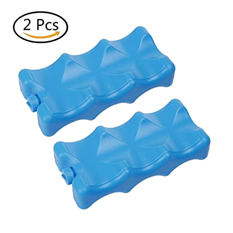Pack de glace - Lot de 2 - Bleu
