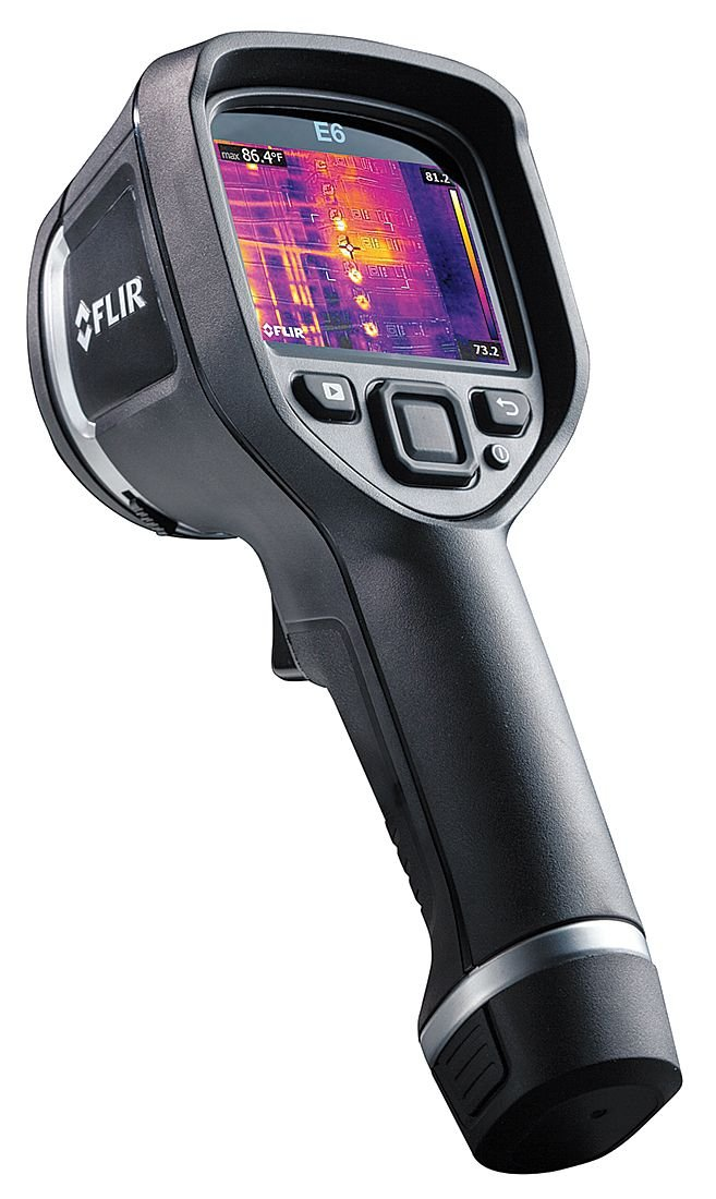 FLIR E6 Compact Thermal Imaging Camera with 160 x 120 IR Resolution and MSX (Discontinued by Manufacturer)