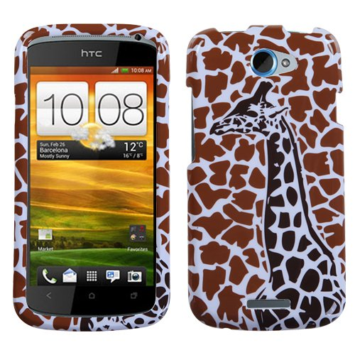 MYBAT HTCONESHPCIM858NP Slim and Stylish Protective Case for HTC One S - 1 Pack - Retail Packaging - Brown Giraffe Single
