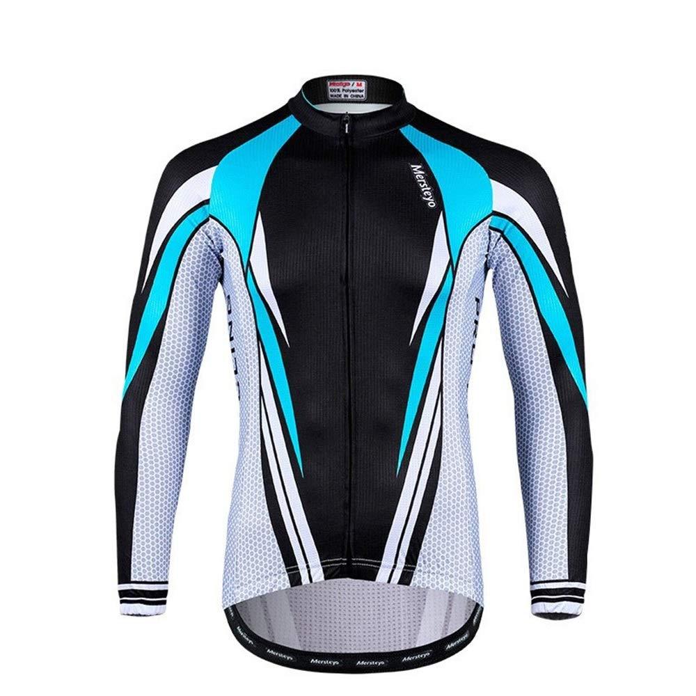 Fahrrad Reitanzug Outdoor Langarm Bike Jersey Star Trek Top Atmungsaktiv Schlank Radsportausrüstung Fahrrad Trikot LPLHJD