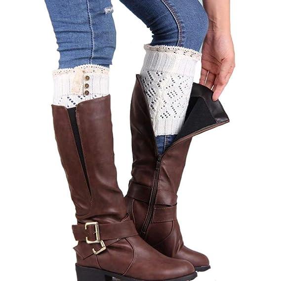 Calcetines,RETUROM Las nuevas mujeres del estilo atan la pierna del cargador del estiramiento calzan
