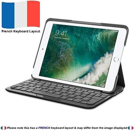 Logitech CANVAS Funda teclado iPad mini, 2, 3 Negro