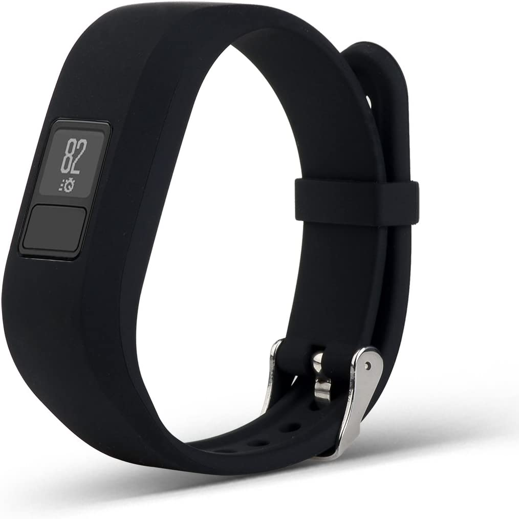 NEW Regular Fit Black Band Garmin Vivofit 3 Activity Tracker