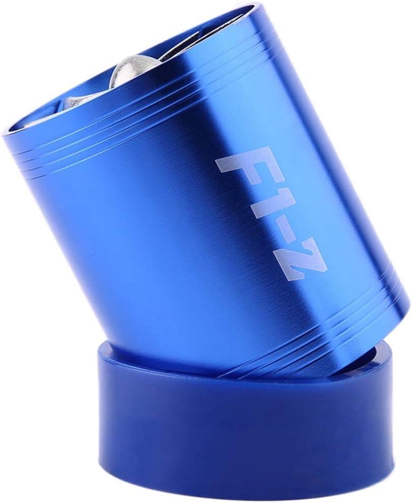 MachinYesell Super Durable Pratique Super Charger Double Prise dair Turbonator Fuel Saver Turbo Charger Ventilateur Bleu