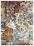 Persian Rugs 6490 Multi Colored 8 x 10 Abstract Modern Area Rug