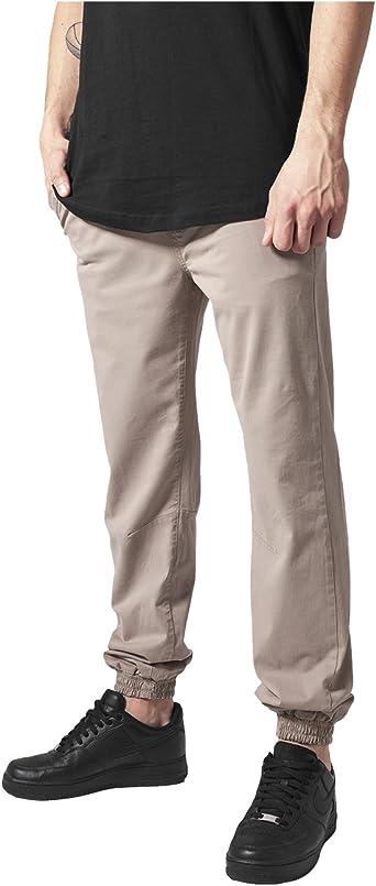 Urban Classics Stretch Twill Jogging Pants Pantalón para Hombre ...