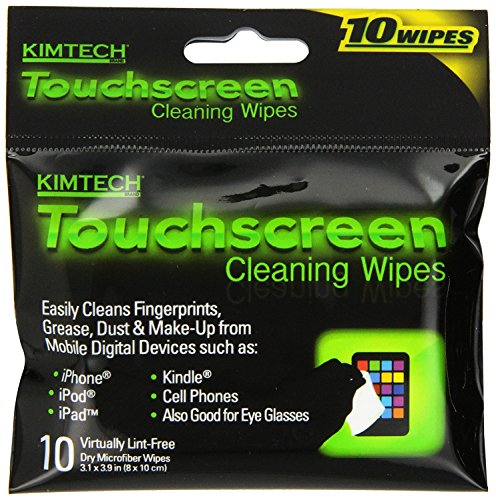 Kimberly-clark Touchscreen Cleaning Wipes, 10 Count