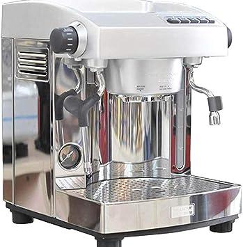 QHYY Cafetera Semiautomática Cafetera de Acero Inoxidable Leche ...