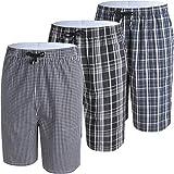 JINSHI Mens Shorts for Sleepwear Lounging Pajama Pants 3Pack 2XL