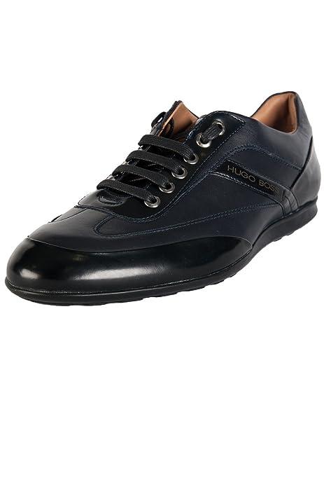 Hugo Boss - Zapatos de cordones para hombre, color negro, talla 39.5: Amazon.es: Zapatos y complementos