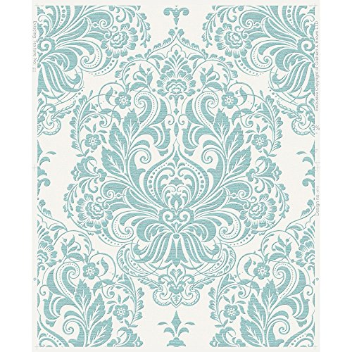 Graham & Brown 20-926 Melody Wallpaper, Duck Egg