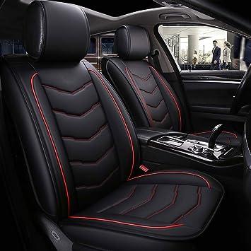 Set 2 Pezzi Nero Bianco poggiatesta riferimenti per poggiatesta auto include pad per auto