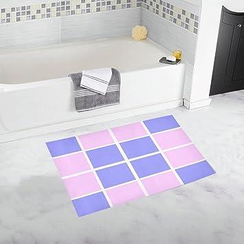 Rose Bleu Blanc géométrique Rayures rayé Les Blocs ...
