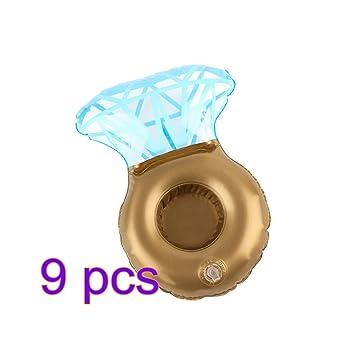 Wuxi Chuannan Posavasos Hinchable para Piscina, Diseño de Anillo de Diamante, para Piscina,