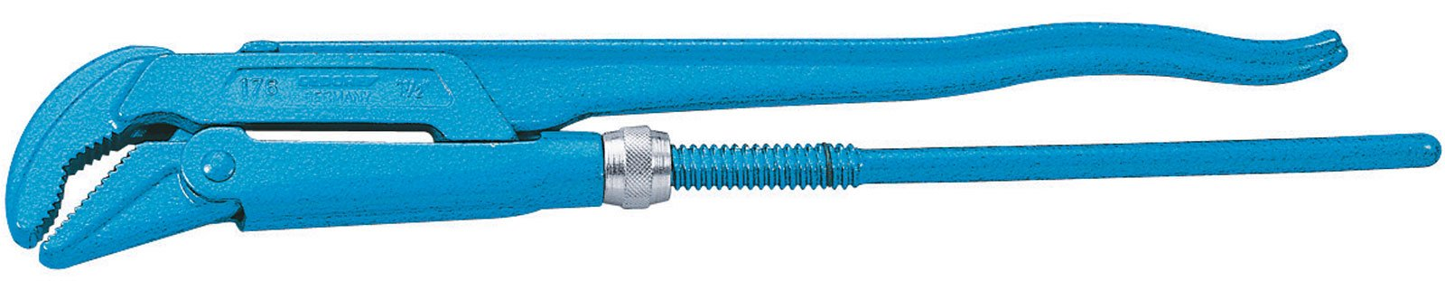 GEDORE 1761.1 Elbow Pipe Wrench, 1'' Pipe Diameter