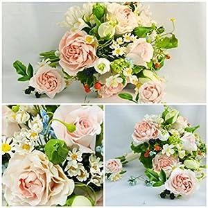 wedding flower, bride bouquet, cold porcelain, strawberry bride bouquet, rustic bouquet, rustic style bride, peony bride bouquet, bridesmaid 98