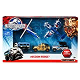Mattel Matchbox Jurassic World Mission Force Vehicle Pack