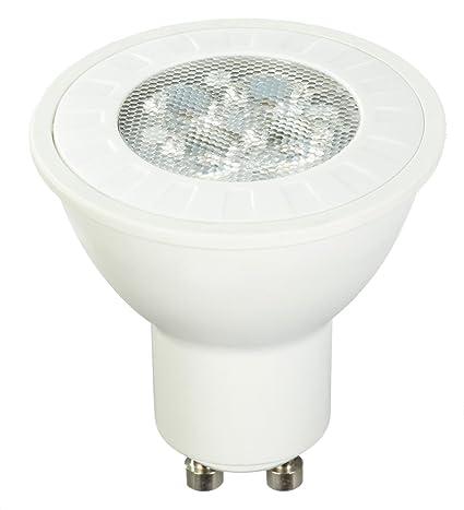 AmazonBasics - Bombilla LED (GU10, 5,5 W equivalente a 50 W,