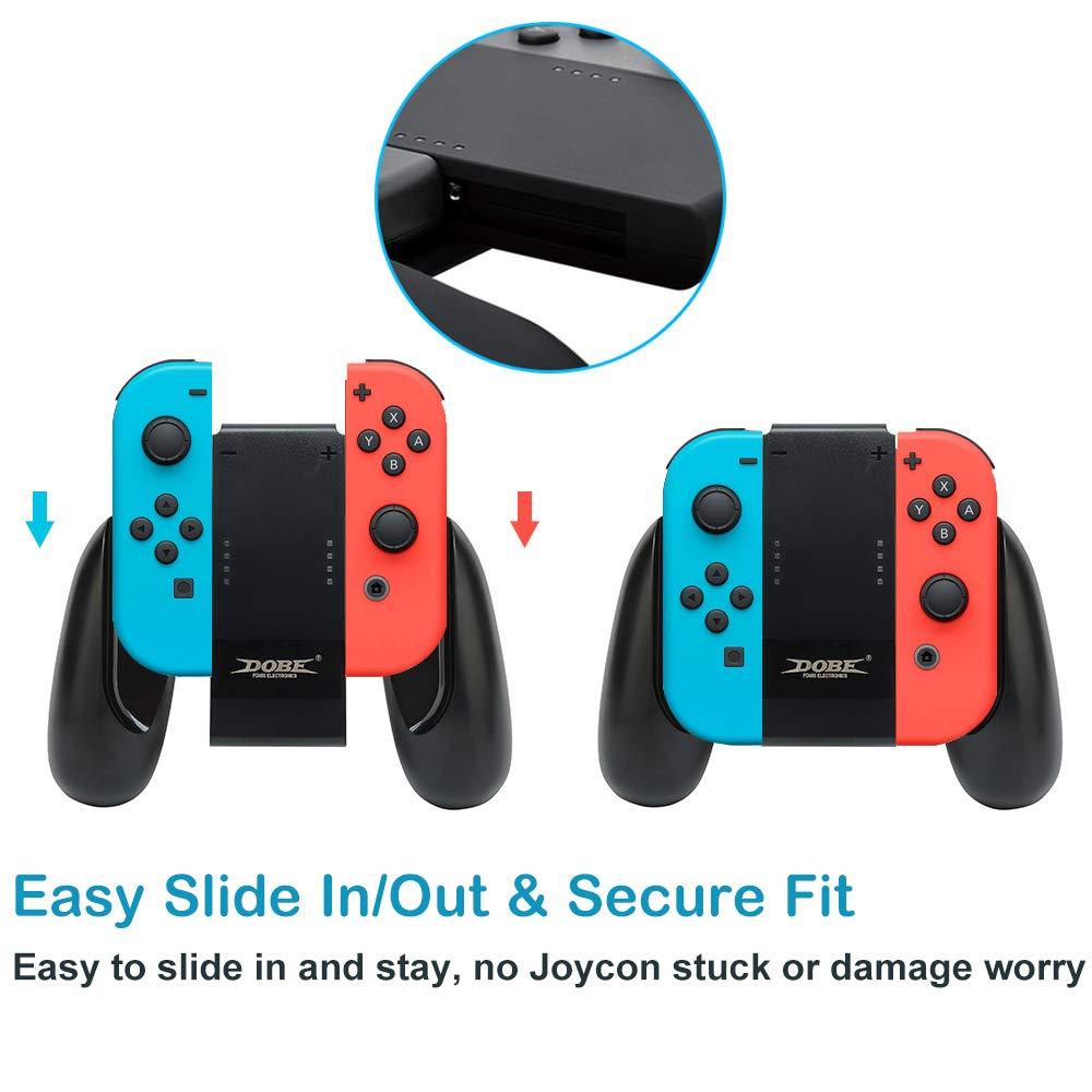 Amazon.com: Defway Joy Con Charging Grip, Ergo Comfort ...