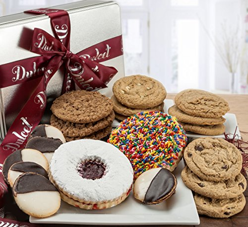 Dulcets Gourmet Assorted All Flavor Cookie Gift Tin
