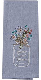 kay dee designs kitchen towels. Kay Dee Designs F0747 Home Sweet Mason Jar Embroidered Tea Towel Amazon Com  F0749 Family Recipe