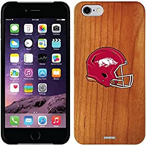Coveroo iphone 6 4.7 Madera Wood Thinshield Case with Arkansas Helmet Design
