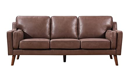 Container Furniture Direct S5346-S Whaley Sofa Brown/Tan