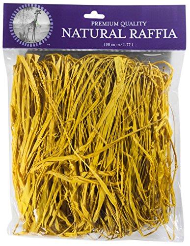 (Super Moss (30101) Raffia, Yellow, 2oz )