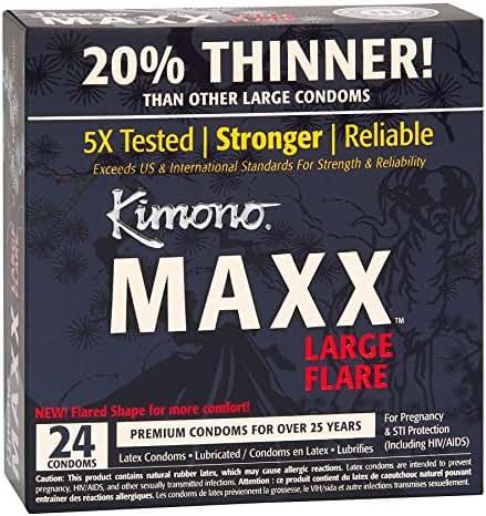 Condoms: Kimono Maxx