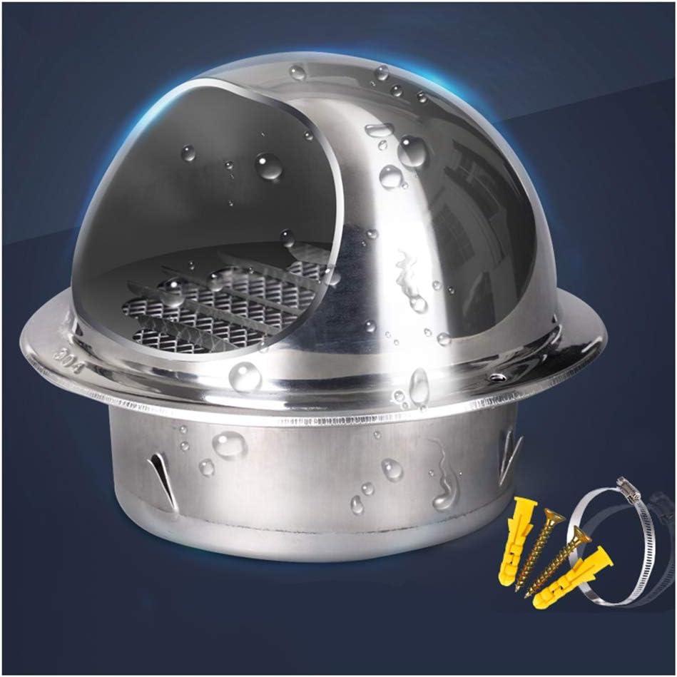 LTLSF Ronda Rejilla de Ventilación de Acero Inoxidable, Ventilación Redonda Rejillas, Bathroom Or Kitchen Extractor Fan,120MM: Amazon.es: Hogar