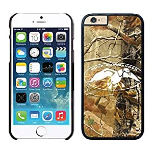 NEW DIY Unique Designed Case For Iphone 6 duck dynasty iPhone 6 Black 4.7 TPU inch Phone Case 133