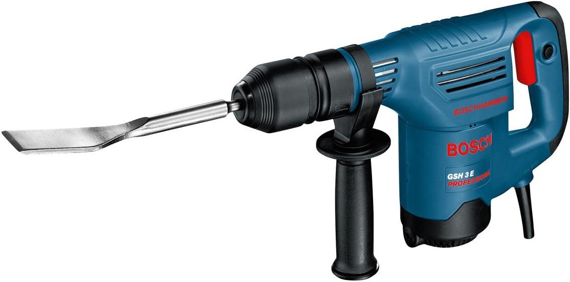 Bosch Pro Flachmei/ßel SDS-max Koffer L/änge 280 mm 1.150 W 400 mm Spitzmei/ßel 8,3 J Schlagenergie Bosch Professional GSH 5 CE Schlaghammer mit SDS-max