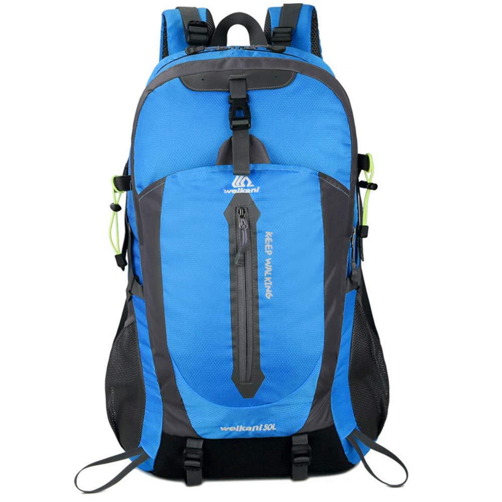 ME BABABBA Bolsa de montañismo para Hombres Hombres_Oxford Bolsa de montañismo para Hombres para Hombro al Aire Libre Gran Capacidad Letra Impresa Escalada en Roca Esquí, Verde b5e62f