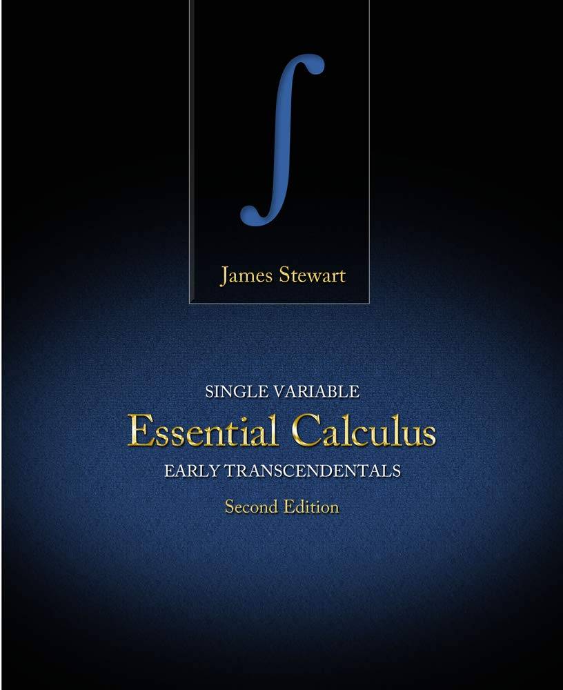 Single Variable Essential Calculus: Early Transcendentals: James Stewart:  9780176575465: Books - Amazon.ca