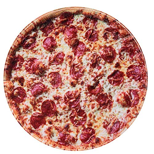 RAINBEAN Pizza Blanket Realistic