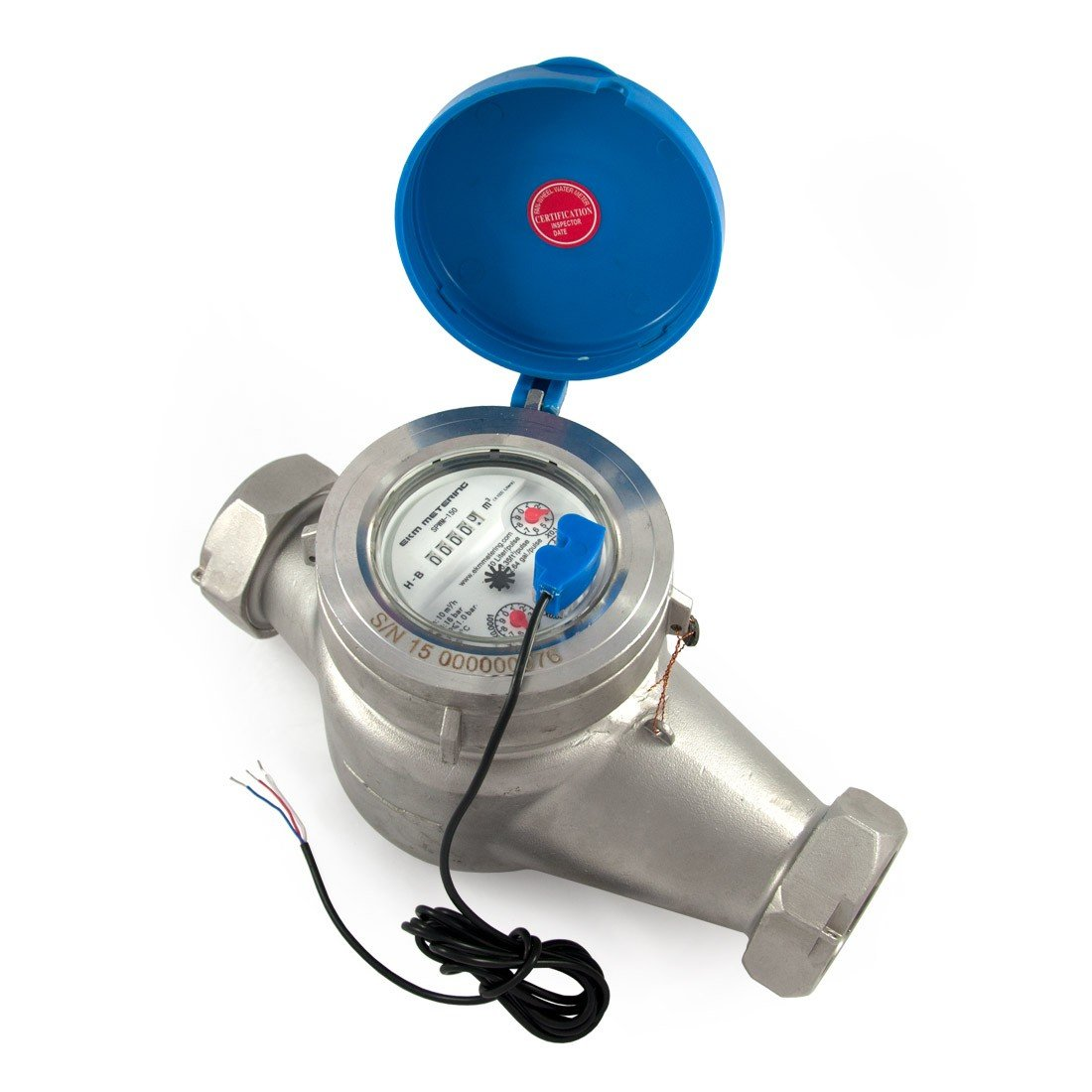 1.5'' Water Meter - Stainless Steel, Pulse Output