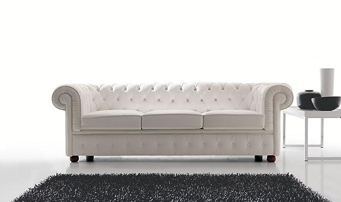 Ponti Divani Tres Asientos sofá Chesterfield Fabricado en ...