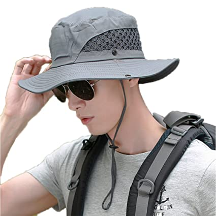 Amazon.com   Outdoor Boonie Sun Hat For Women and Men 48f7a2f9a002