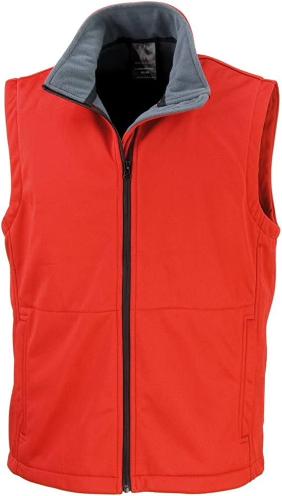 Result Core Core softshell bodywarmer Red 3XL