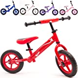 Kiddo 2016 Red Kids Childrens Metal Training Balance Bike Suitable For 2 to 5 Years - New (Red)