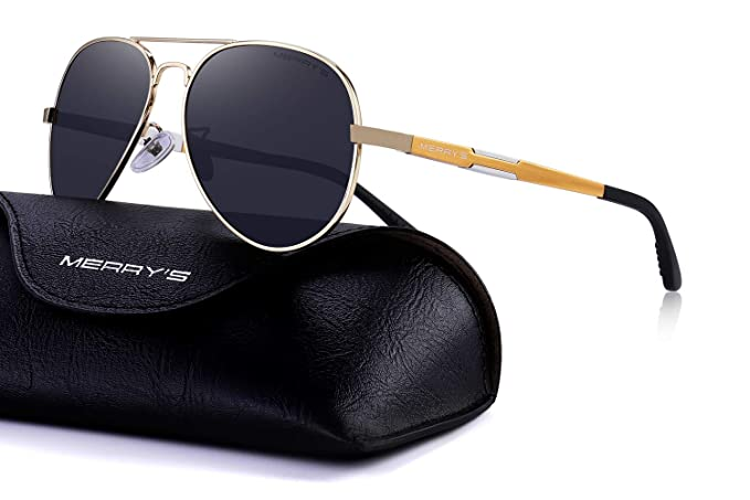 Feliz de los hombres HD magnesio de aluminio gafas de sol polarizadas gafas de conducción sol s8285: Amazon.es: Ropa y accesorios
